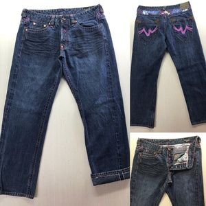 Imperial Junkie Selvedge loose Jeans Size 36 38x34